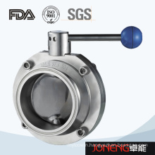 Stainless Steel Pull Handle Clamped Sanitary Butterfly Valve (JN-BV1009)