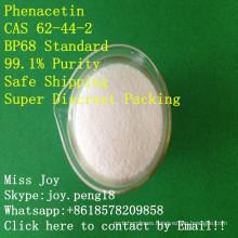 Phenaceti Bp68 Pureza alta Phenacet API API dolor y fiebre droga Phenace en polvo