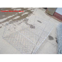 Hot DIP Galvanized Gabion Box 80X100mm for Rockfill Dam