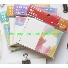Colorful Painting Design Memo Notes Pad