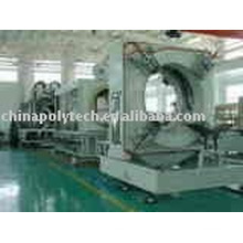 Plastic pvc corrugated water pipe extrusion line