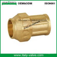 Prise en laiton de qualité supérieure en compression à extrémité femelle (IC-7002)