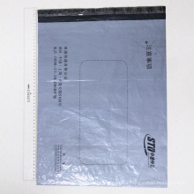 Venta al por mayor Logo Printed Mailing Gray Bag