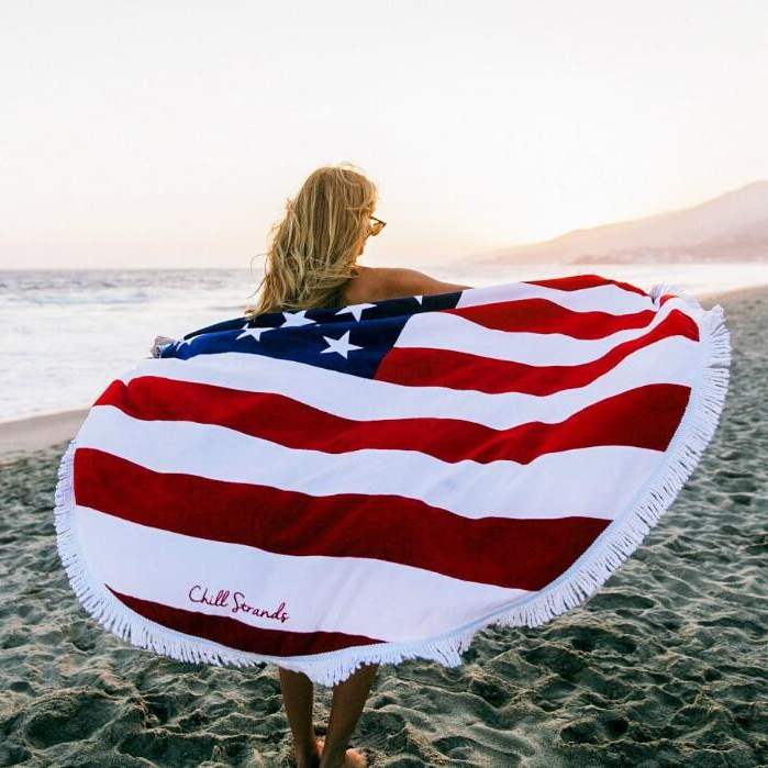 100% cotton beach towel