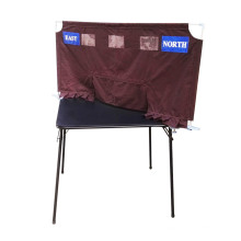 Brown Soft Screen for Bridge Club and Bridge School