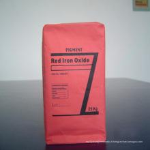 Pigment d'oxyde de fer rouge pour briques