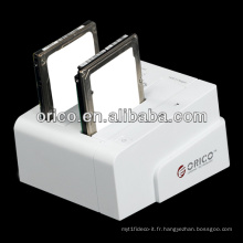 2bay 2.5 / 3.5 pouces SATA HDD docking station