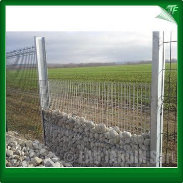 Galvanized gabion welded mesh