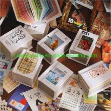 Mini Decoration Paper Calendar Scrapbook