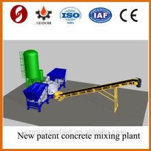 Подержанная бетонная бетоносмесительная установка MD1800, передвижная бетоносмесительная установка. Мобильный бетонный завод