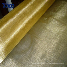YACHAO 100 mesh 200 mesh emi / rfi tissu de protection, maille d'écran en laiton, treillis métallique de cuivre
