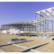 Entrepôt de construction de structure métallique préfabriquée