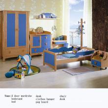 Armoire, garde-robe, rangement armoire, meubles de chambre à coucher, armoire en bois, armoire en bois (WJ278612)