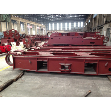 Custom Precision Track Roller Assembly Structural Machining