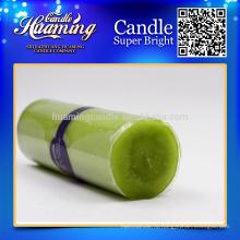 Huaming украшенные свечи / Оптовые белые свечи столба / белые бытовые свечи для украшения