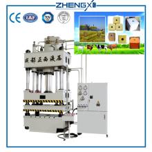 Animal Feed Briquetting Salt Block Press Machine 1000 Ton