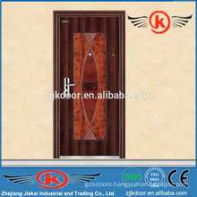 JK-S9002safe reinforced steel outter security screen door design