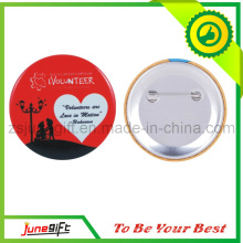 China Cheap Customized Promotion Printed Button Badge for Volunteer Publicity