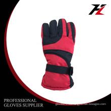 Diseño de moda al por mayor barato personalizar los guantes de esquí