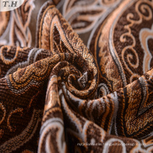 100% Polyester Arabic Upholstery Chenille Textile Fabric