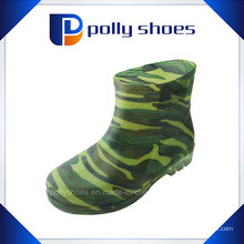 Factory Supply Black High Cylinder PVC Rain Chaussures