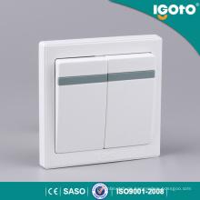 Igoto E9021 2 Gang 1 Way Smart Wandschalter für Zuhause