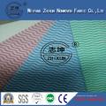 Tela no tejida respetuosa del medio ambiente Spunlace 45GSM-100GSM