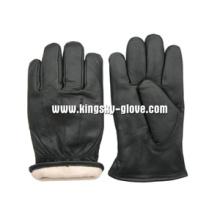 Kuhkorn Leder Thinsulate Gefüttert Winter Arbeit Handschuh