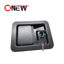 Black Coated Generator Set Canopy Spare Parts Paddle Door Lock Supply in China