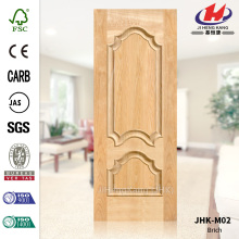 Solid Wood Design Interior Birch Veneer Door Panel