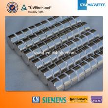 Axial magnetisiert ISO9001 Neodym 45sh Magnet