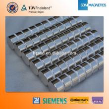 Осевой намагниченный магнит 45 дБ неодима ISO9001
