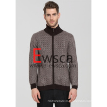 Intarsia Pure Style Cachemire Homme Style Européen