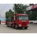 FAW Tri-gandar 6X2 Low Bed Flat Trailer