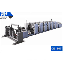 Roll-to-Roll-Flexodruckmaschine für Papierbecher