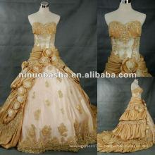 Neue Art und Weise reale Beispiel-Hochzeits-Kleid im Speicher 2012