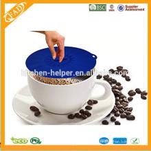 Promocional BPA Free Grade de Alimentos Silicone Preço de Fábrica Custom Silicone Jar Lid