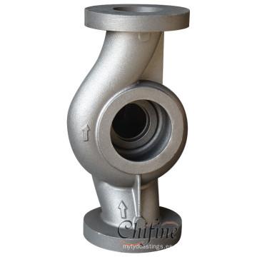Pieza de bomba de agua de colada de hierro de alta presión