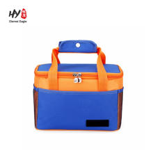 custom foldable tote insulated thermal lunch bag cooler