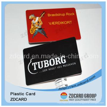 Inscription en plastique / Cartes-cadeaux à codes barres VIP / Discount