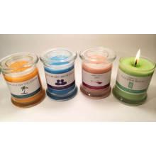Aromatherapie Glas Glas Kerzen, Geschenk Kerze