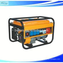 BT2500 2KW 2KVA 5.5HP China Gasoline Engine Generator Set 168F-1