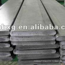 317 chaud étirés en acier inoxydable barre plate avec la bonne qualité