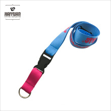 Color Matching Multicolor Key Ring Lanyard