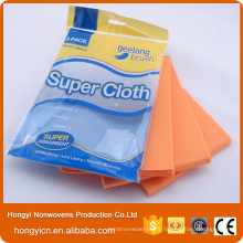 Needle Punched Nonwoven Fabric Cleaning Cloth, Kitchen Used Cleaning Towel