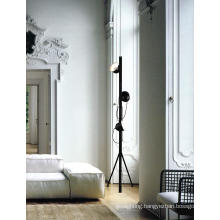 Black Metal Floor Lamp Bedroom (ML21190-3)