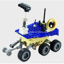 Space Series Designer auf dem Mars! Mars Survey Team 461PCS blockiert Spielzeug