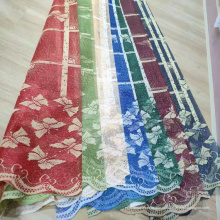 Shaoxing дешевые кружева основы сетки вязание занавес ткани