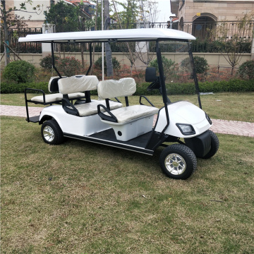 2021off road Electric Golf Cart 6 tempat duduk