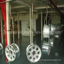 Electrophoresis Conveyor Spray Coating Line for Car Rims